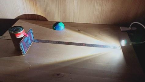 Et: muntatge experimental llum i estacions